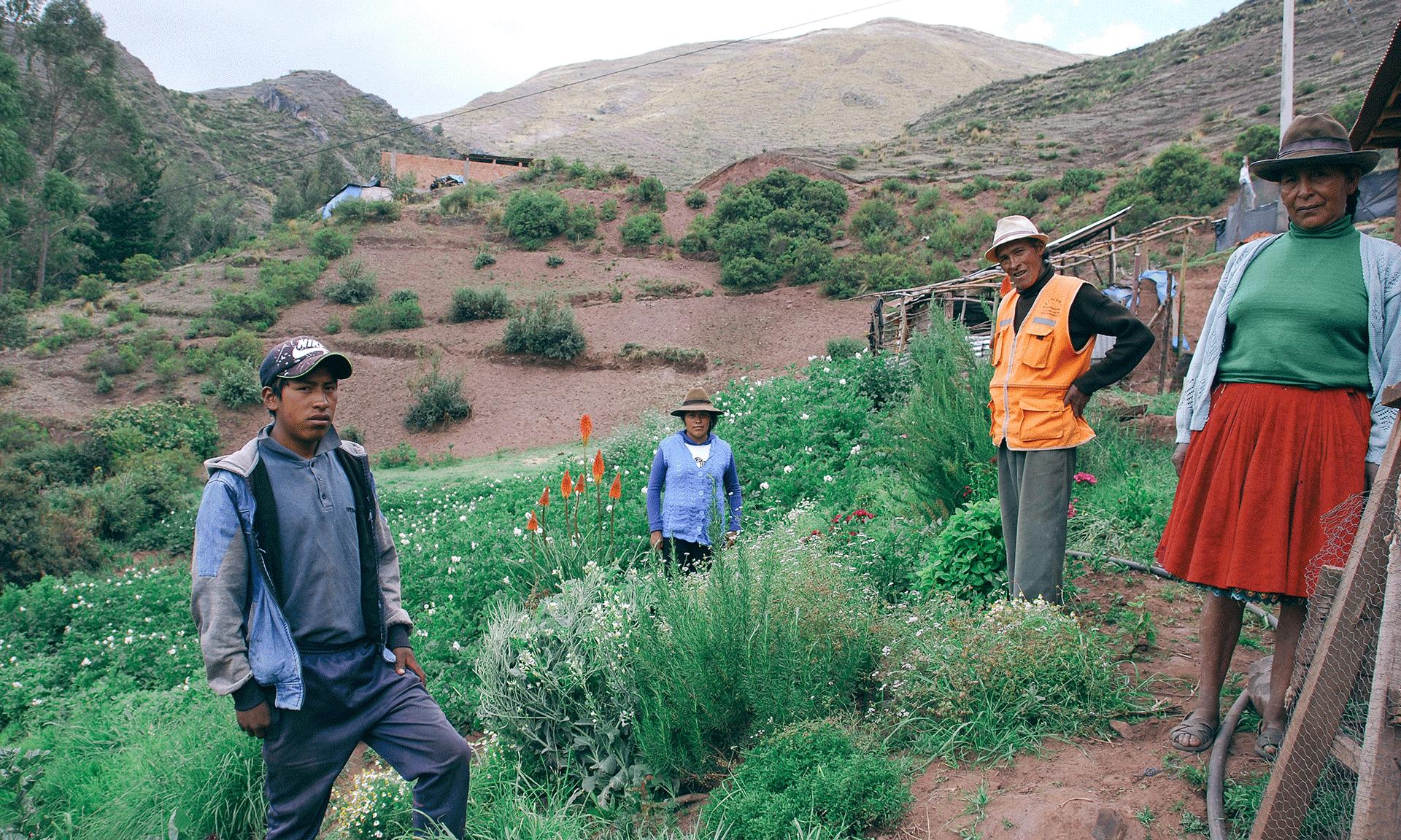 La población andina de Perú recupera su orgullo quechua