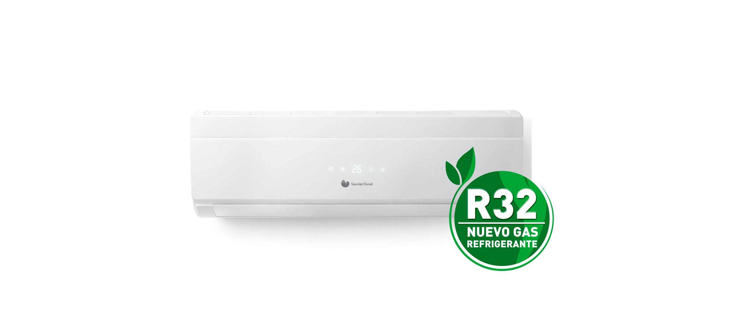 Nuevo refrigerante R32, más eficiente, más ecológico