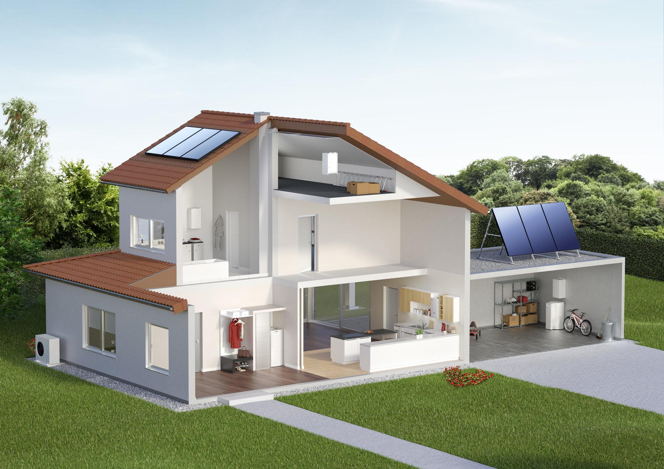 fotovoltaica y aerotermica