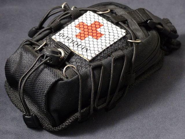 mochila del botiquin