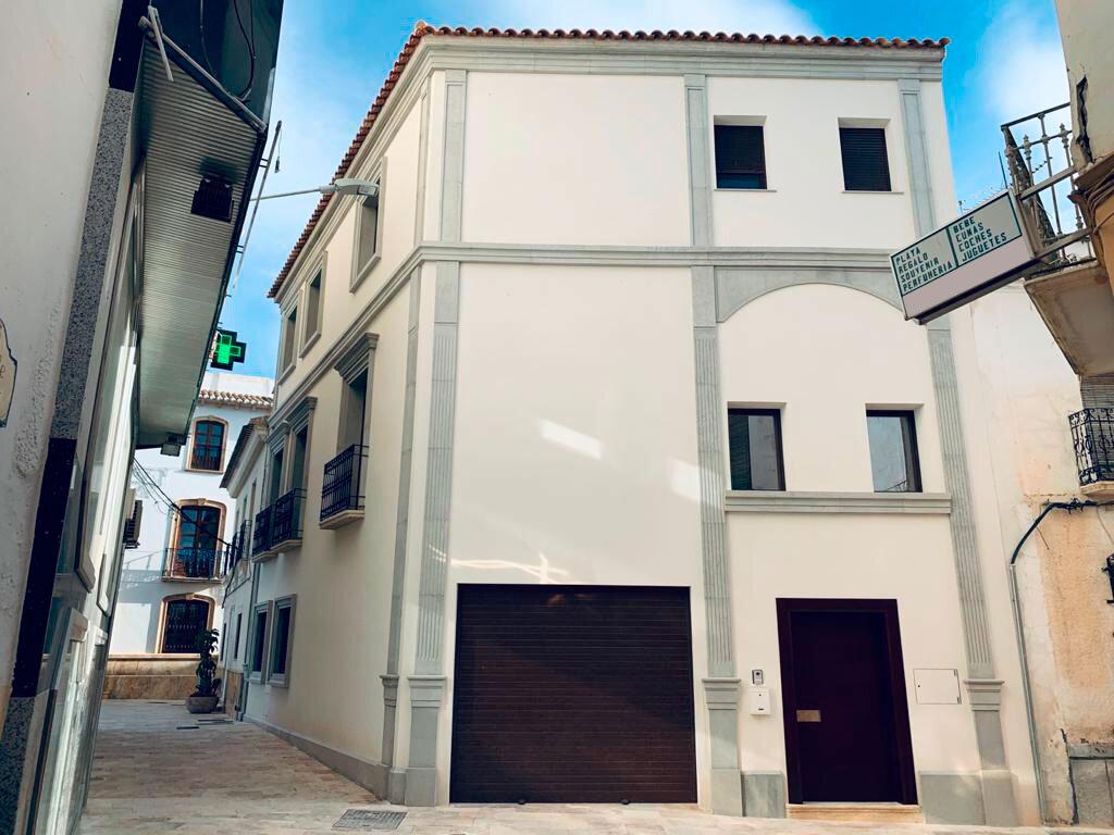 fachada casa de albox