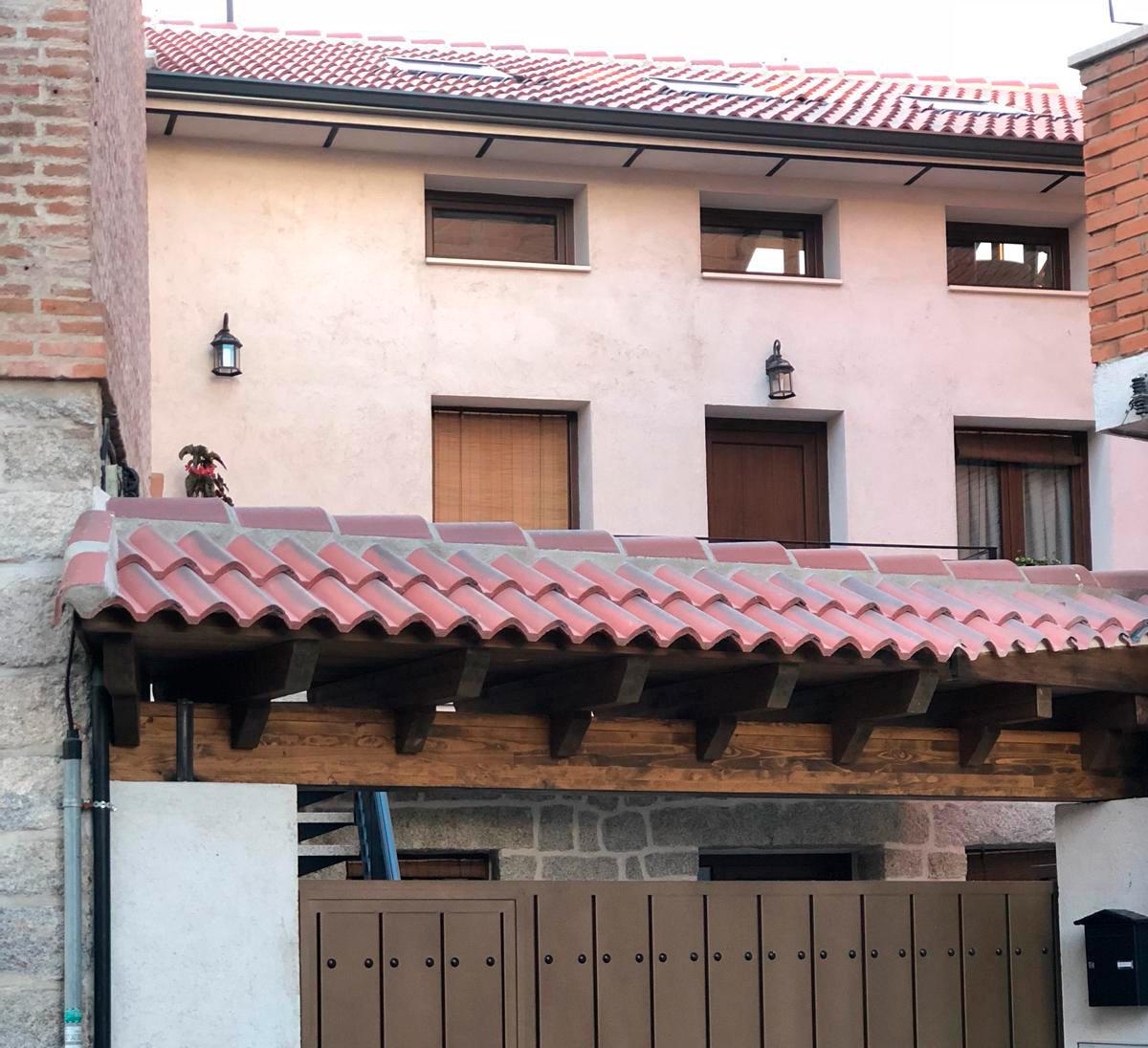 fachada casa colmenar viejo
