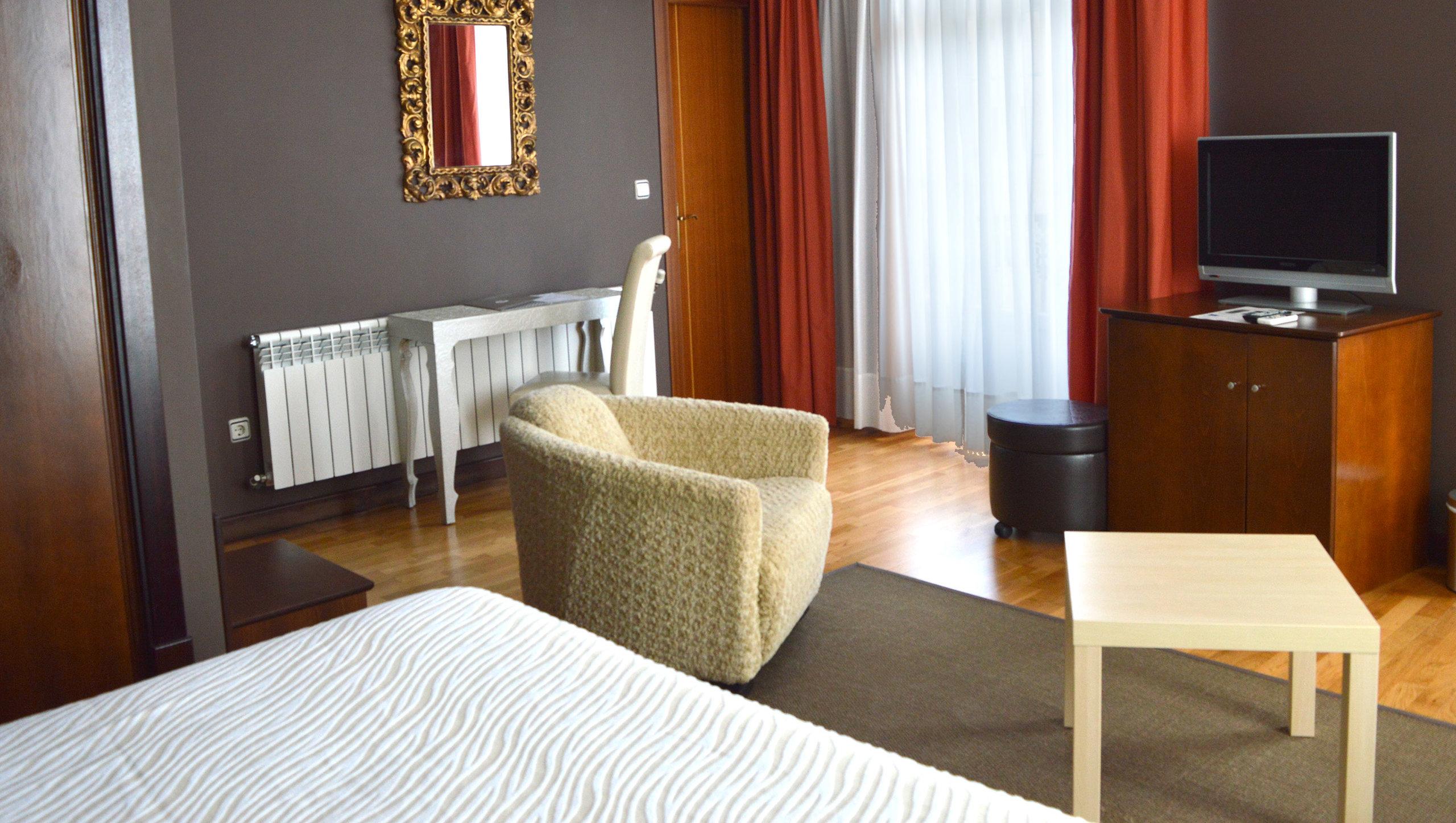habitacion del hotel Insua