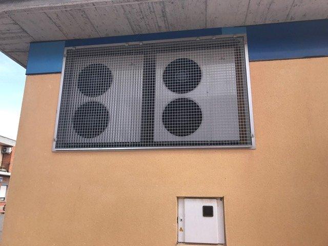 fachada bombas de calor pedrajas
