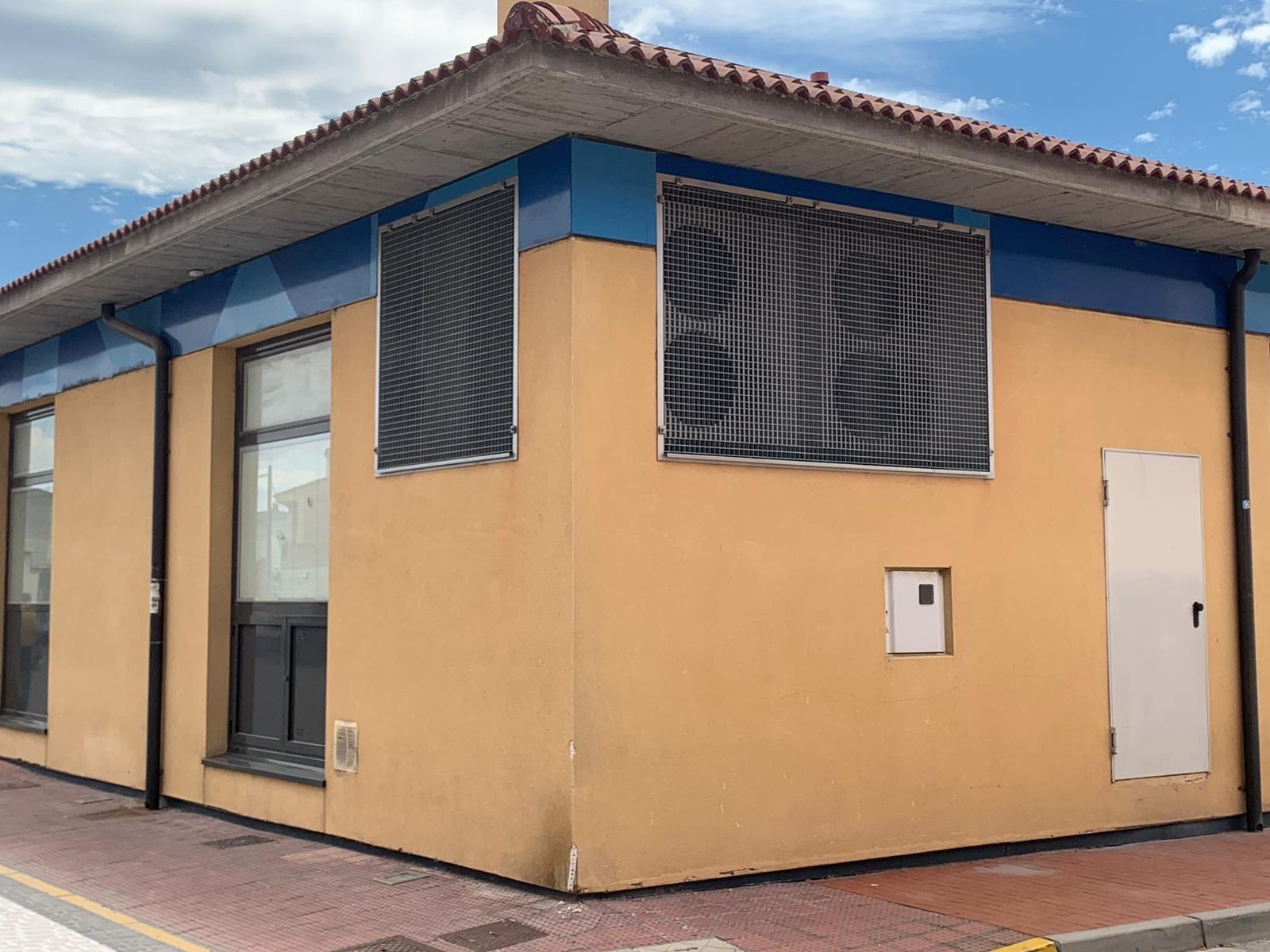 bombas de calor en la fachada