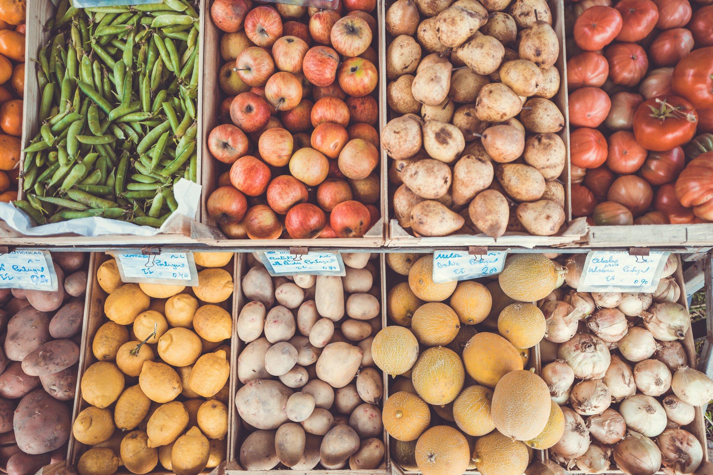 fruta a granel