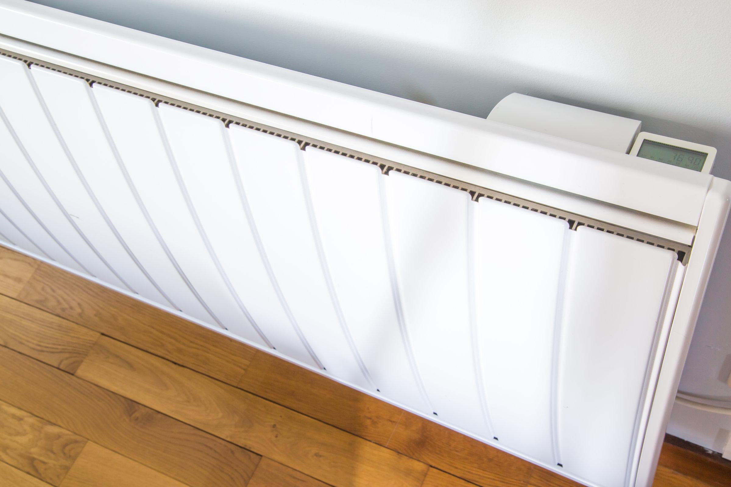 radiador de baja temperatura dinámico moderno