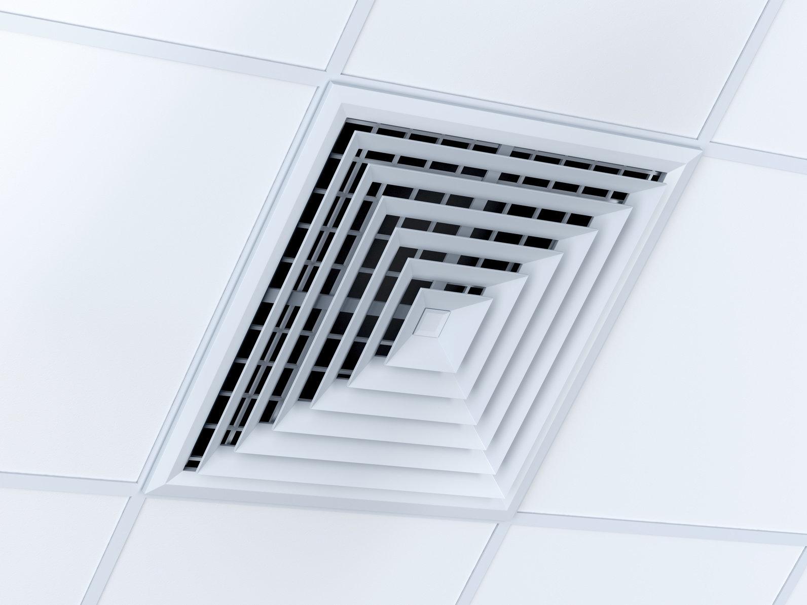 rejilla del aire acondicionado