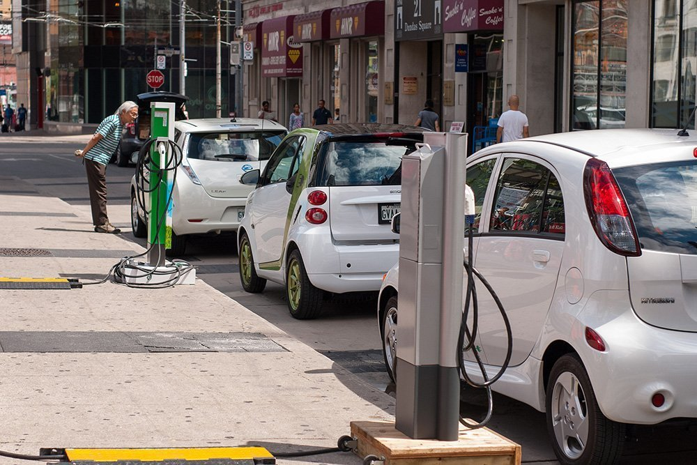 carga coches electricos