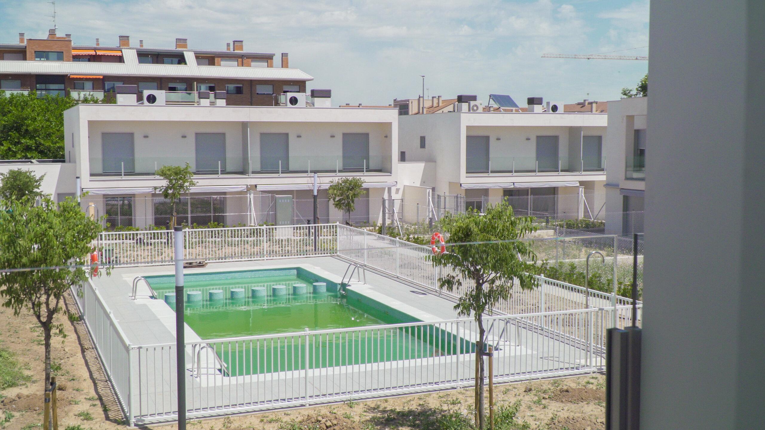 viviendas de la urbanización de cuarte