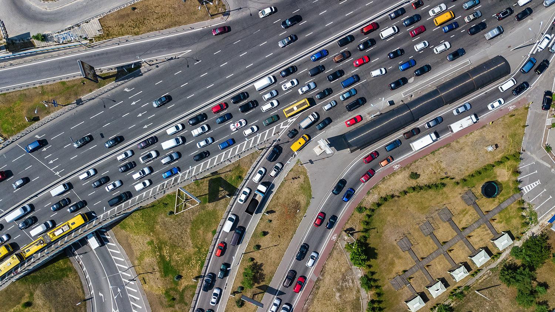 trafico denso