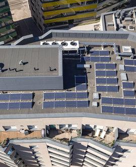 Energía fotovoltaica compartida