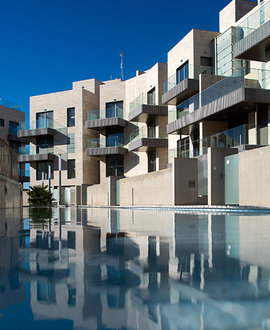 Aerotermia para un novedoso concepto residencial construido bajo los criterios de consumo casi nulo