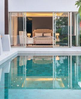 Suelo radiante para la climatización de piscinas