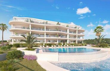 Una promoción de viviendas de lujo con aerotermia en Fuengirola, Málaga