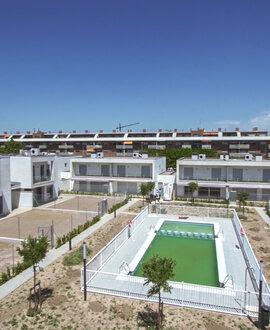 Una urbanización con categoría de eficiencia energética A gracias a la aerotermia